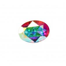 14x10 mm Oval  crystal AB fancy stone