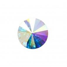 3019 16 mm Riviol  Crystal AB Fancy Stone