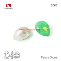 DZ 3003 14x10 mm Drop shape crystal fancy stone