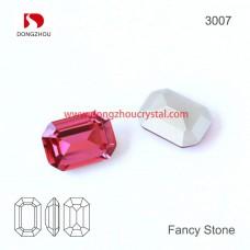 DZ 3007 Octagon  crystal fancy stone