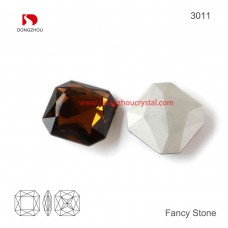 DZ 3011 Square shape crystal fancy stone