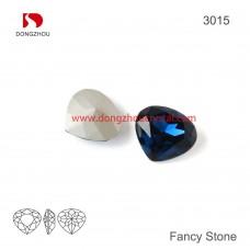 DZ 3015 Heart shape crystal fancy stone