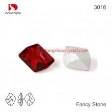 DZ 3016 20x16 mm COSMIC SHAPE CRYSTAL FANCY STONE