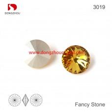 DZ 3019  14 mm  riviol shape crystal fancy stone