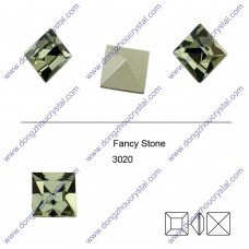 3020 square shape crystal fancy stone