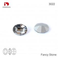 DZ 3022 12x10 mm Oval shape crystal fancy stone