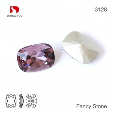 DZ 3128 Crystal Square Stone