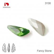 DZ 3130 wing shape crystal fancy stone