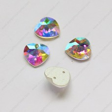 heart shape sew on stone 8*8mm