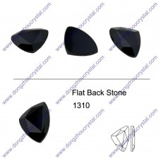 DZ 1310 triangle shape flat back stone