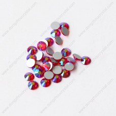 Flat back glass non hotfix rhinestones for jewelry making