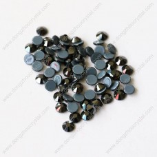 SS6-SS40 faceted flat back glass hotfix rhinestones for clothes