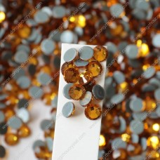 Wholesale round crystal hotfix rhinestones for garment accessories