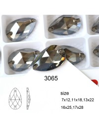 DZ 3065 18X11 MM teat drop crystal sew on stone