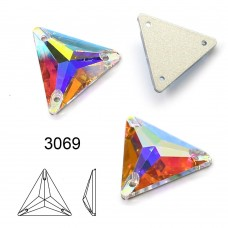 DZ 3069 triangle crystal sew on stone